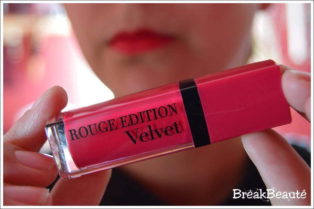 Les Rouge Edition Velvet, Bourjois