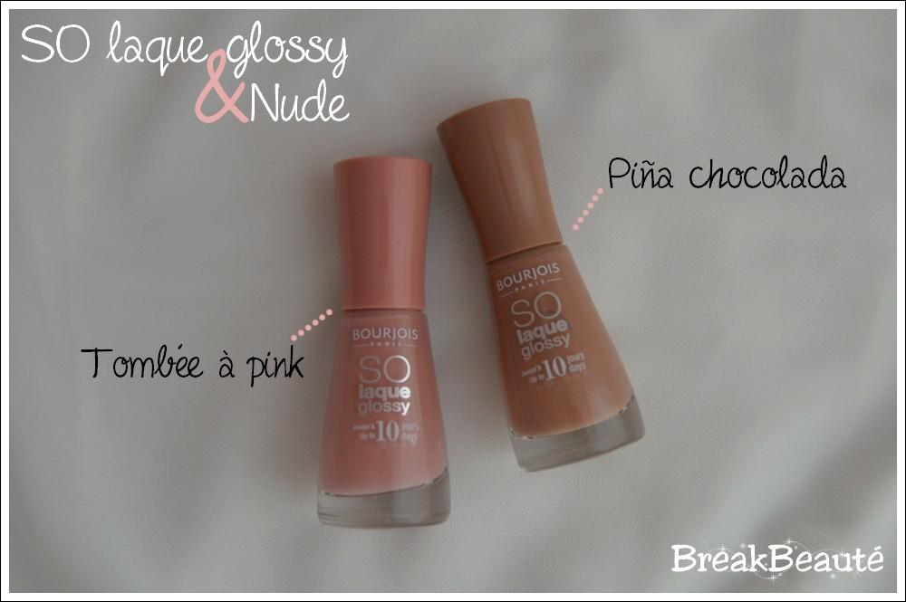 SO laque glossy & Nude, des ongles tout en délicatesse