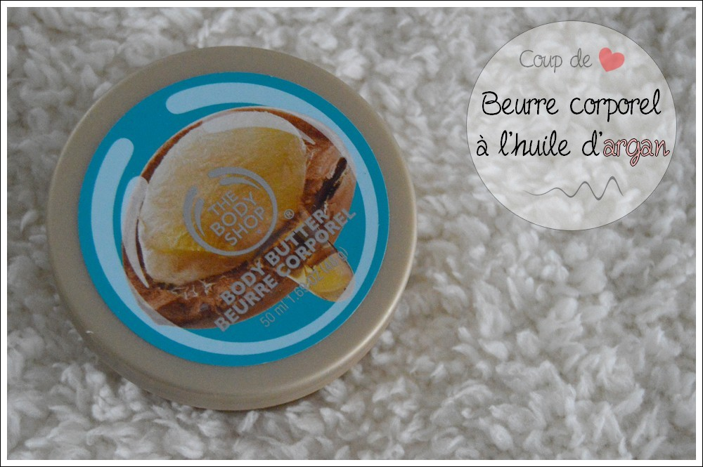 Coup de ♥ | Le beurre corporel à l'argan The Body Shop