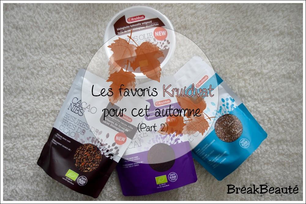 Mon automne avec Kruidvat: Les compléments alimentaires