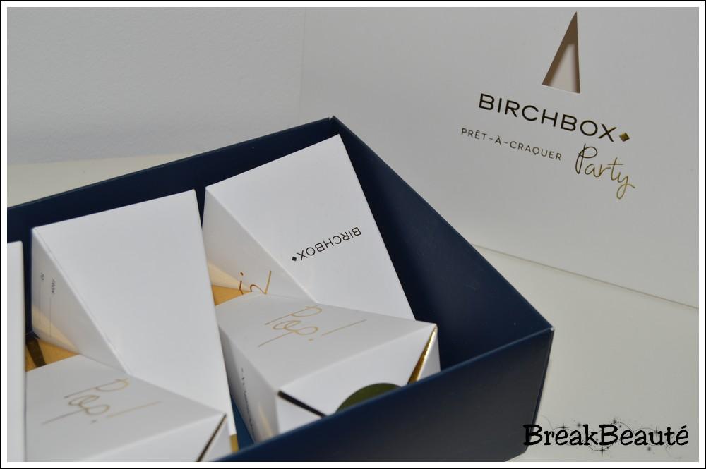La box «prêt-à-craquer Party» de Birchbox
