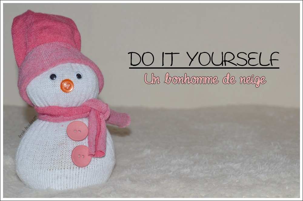 DIY • Mes petits bonhommes de neige