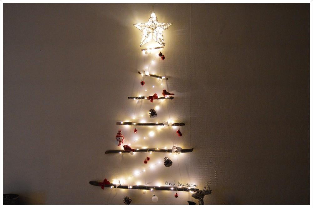 Mon sapin de Noël fait maison ♥