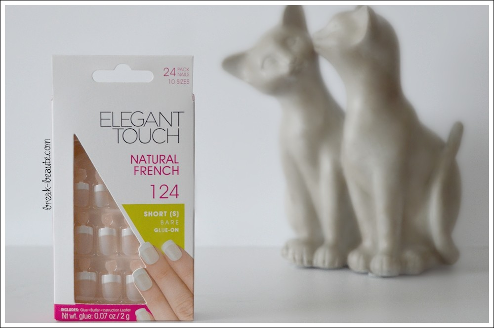 Ma «Natural French» par Elegant Touch