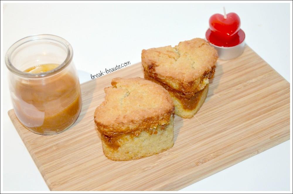 Mini-cakes au caramel beurre salé!