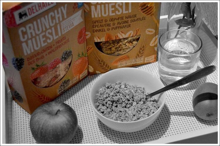 Les Crunchy Muesli de Delhaize, mes alliés pour un petit-dej équilibré!