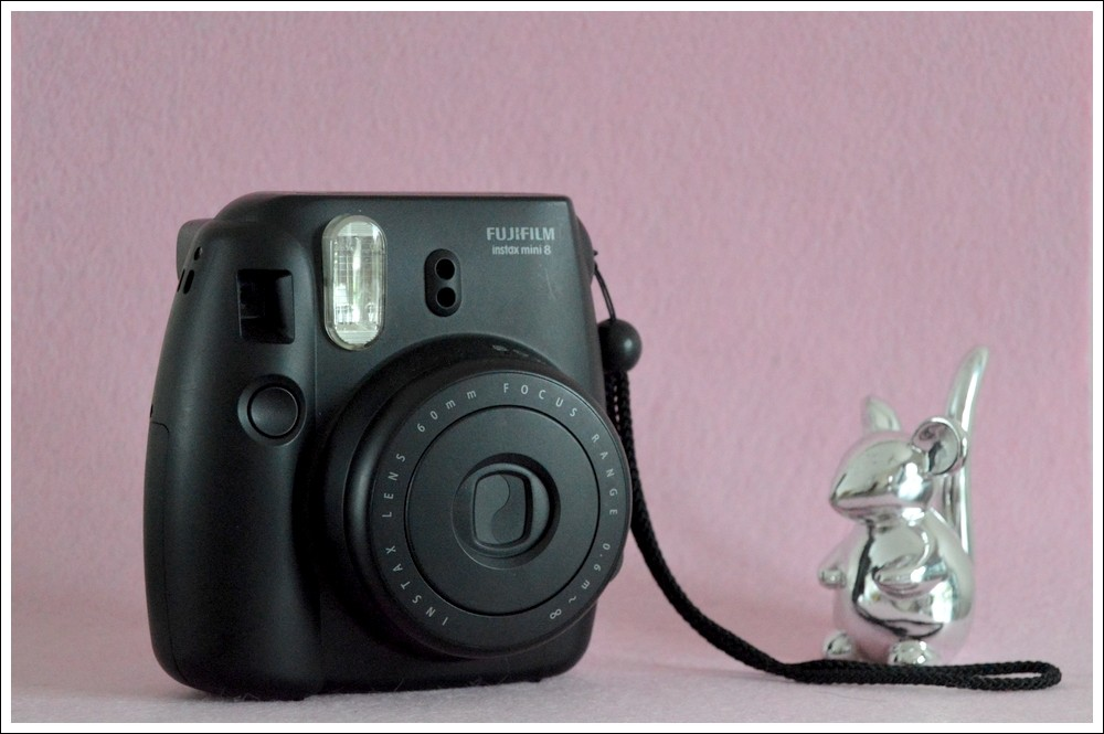 J'ai testé: L'Instax Mini 8 de Fujifilm