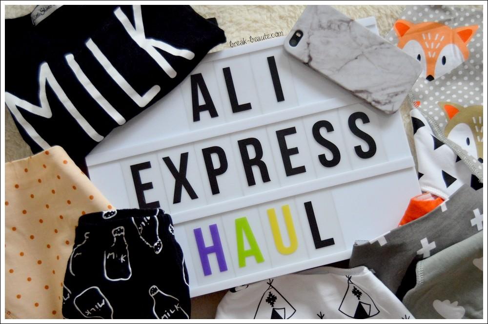 Mes cinq premiers achats sur Aliexpress