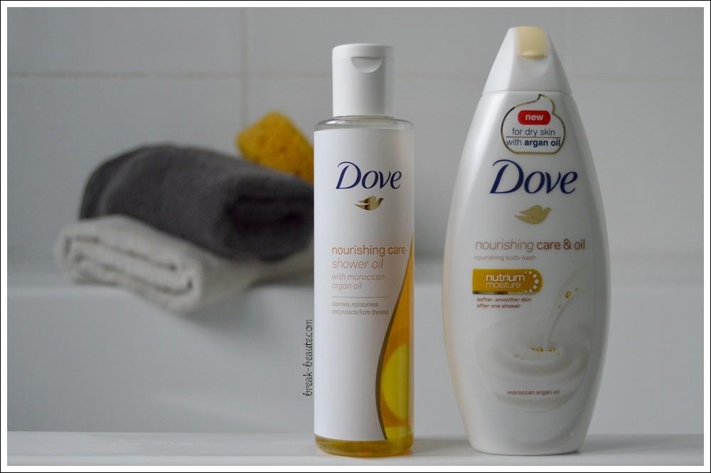 L'huile d'argan s'invite sous ma douche avec Dove