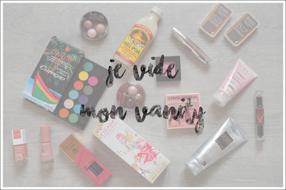 ÉNORME vide vanity à prix minis!