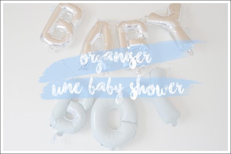 L'organisation d'une baby shower