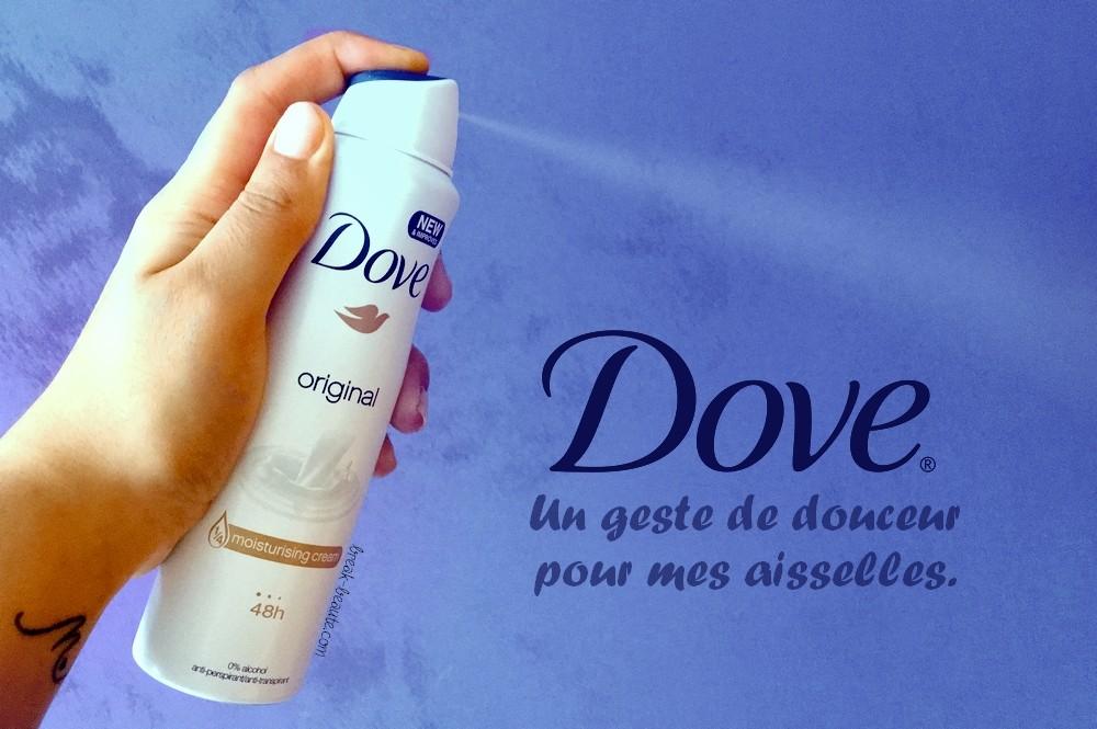 J'ai (re)découvert les déodorants Dove