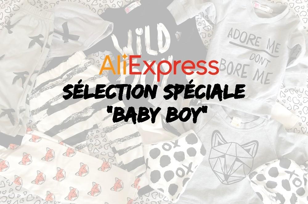 Mes achats et ma wishlist AliExpress pour mon baby boy (+ BON PLAN)
