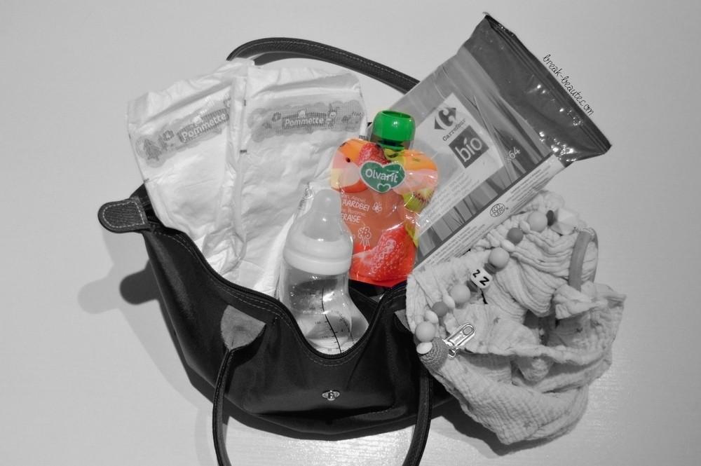 En balade avec bébé: Mes cinq indispensablesen mode minimaliste