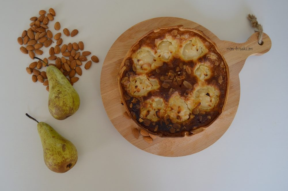 Mini tartes sans pâte aux poires et aux amandes