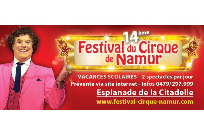 Le festival du Cirque de Namur