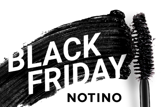 Le Black Friday, c'est maintenant sur Notino!