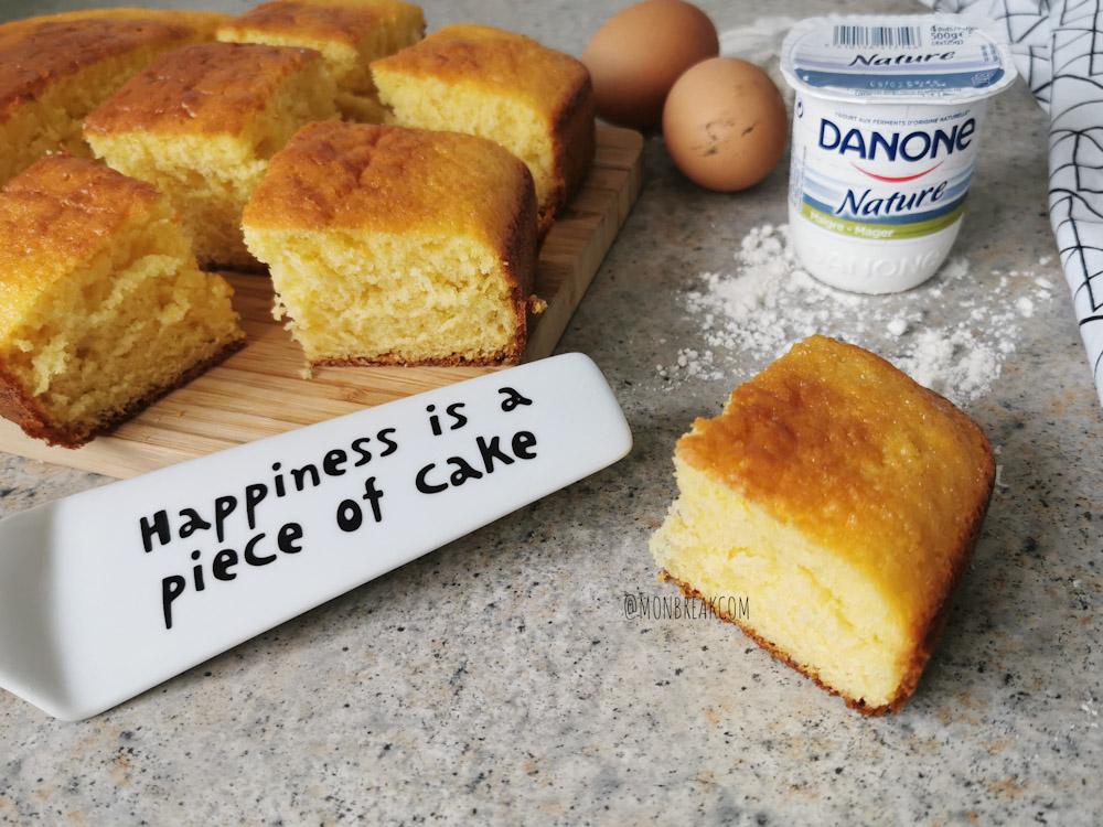Le gâteau au yaourt, le gâteau parfait à faire avec les enfants!