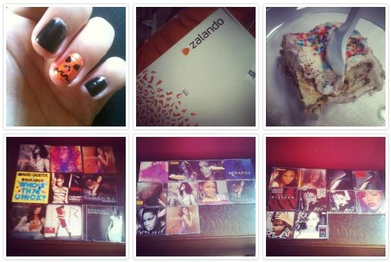Octobre sur Instagram
