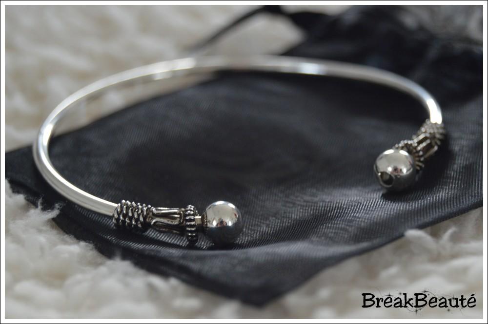 Bracelet jonc «Caraïbes», Bijoux Chérie
