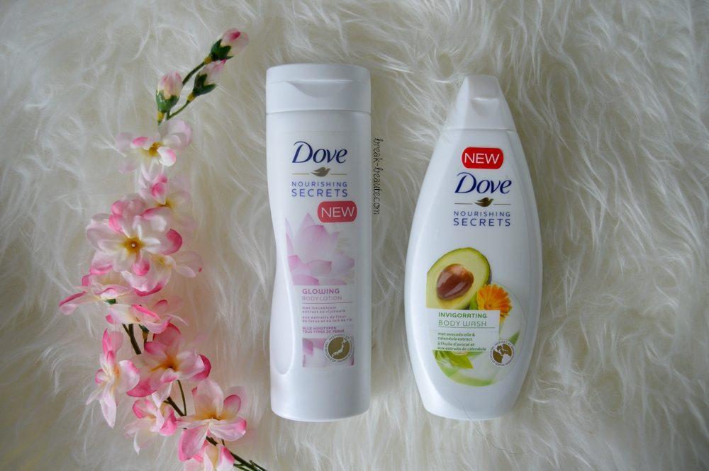 Les rituels de beauté de Dove