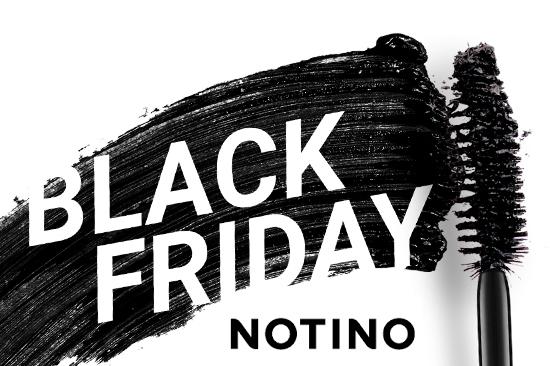 Le Black Friday, c'est maintenant sur Notino!
