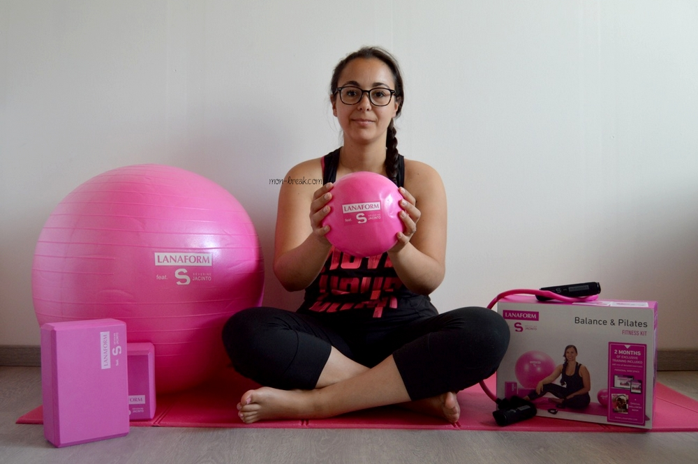 J'ai testé le kit fitness de Lanaform