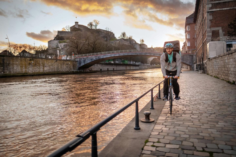 Deliveroo débarque à Namur !