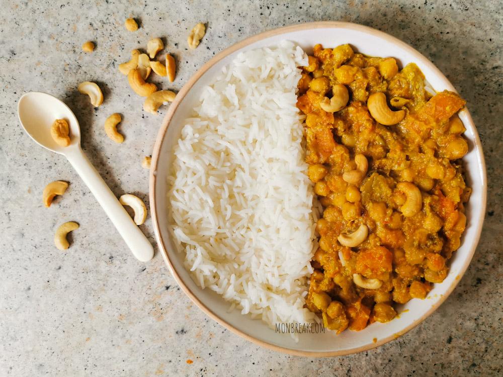 Veggie curry au Cookeo