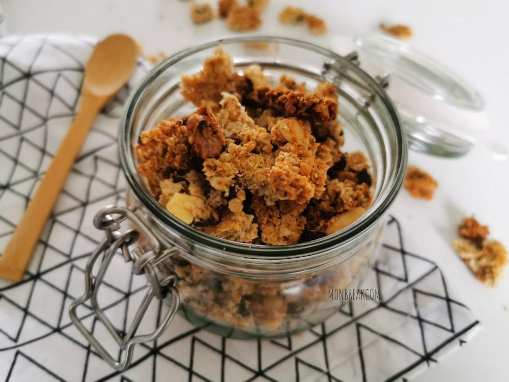 Recette de granola maison