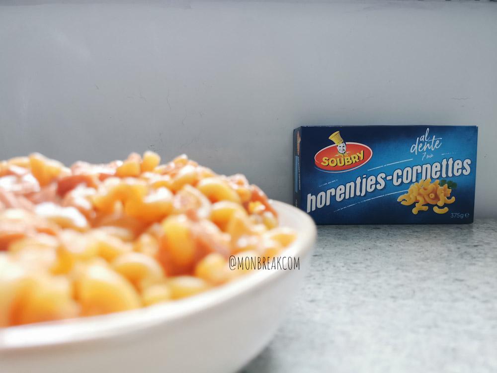 Cornettes tomate-crème, jambon #RestosSoubry